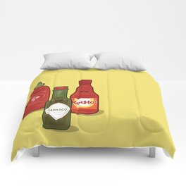 The Hot Sauces Comforters