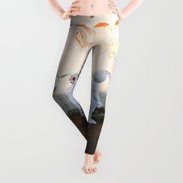 Bleach Blonde II Leggings