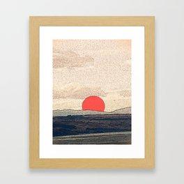 Tokyo drift Framed Art Print