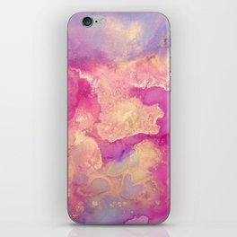Alcohol Ink - Nebula 2 iPhone Skin