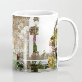 Paris Flower Shop Window Coffee Mug