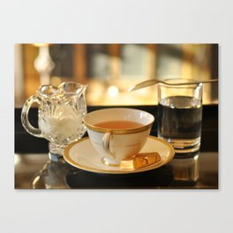 Tea and Chocolates Canvas Print