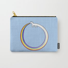 Ouroboros Unicorn Rainbow Vomit Carry-All Pouch