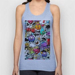 graffiti fun Unisex Tank Top