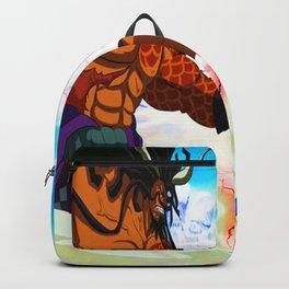 human big and small Backpack