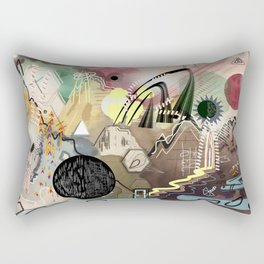 New Worlds Trail Map: The Planet of Mystical Things Rectangular Pillow