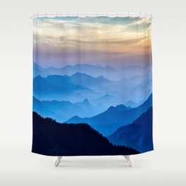 Mountains 11 Shower Curtain