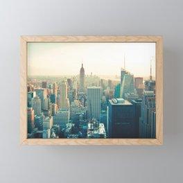 City Skyline Framed Mini Art Print