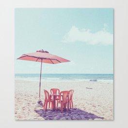 To The Beach II Canvas Print