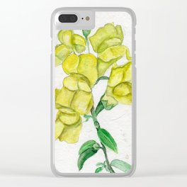 Snappy Clear iPhone Case