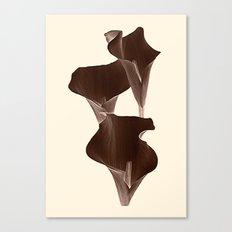 Brown Calla Lilly. Canvas Print