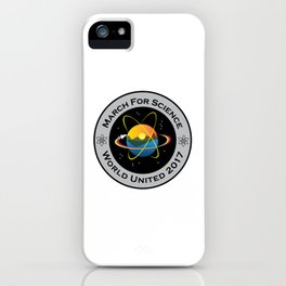 March For Science Astronaut iPhone Case