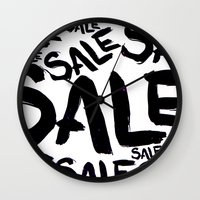 sale Wall Clocks featuring Sale by LoRo  Art & Pictures