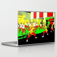 workout Laptop & iPad Skins featuring Workout by lookiz