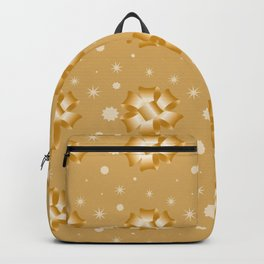 Golden bows and stars Backpack
