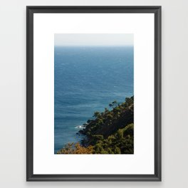 Sea landscape 1766 Framed Art Print
