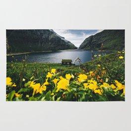 Cabin in Saksun - Faroe Islands Rug