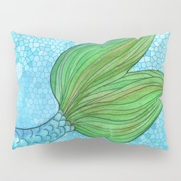 Mysterious Mermaid Pillow Sham
