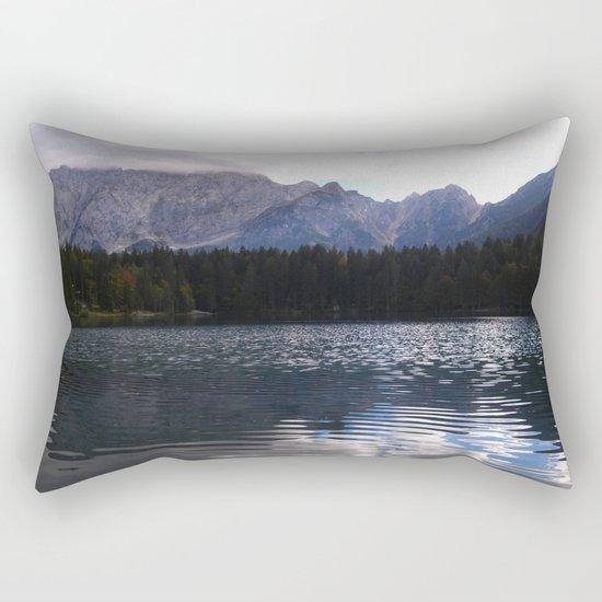Lake Atmosphere Rectangular Pillow