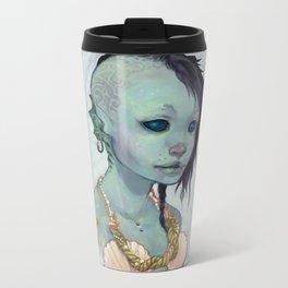 A Little Mermaid Metal Travel Mug