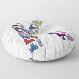 letter k - gaming blocks Floor Pillow