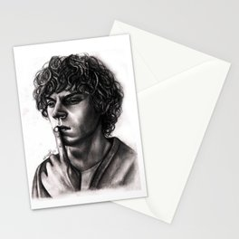 Evan Peters Stationery Cards