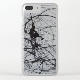 Squiggle Clear iPhone Case