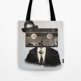 Faces of the Past: VHS alt3 Tote Bag