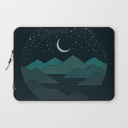Between The Mountains And The Stars Laptop Sleeve