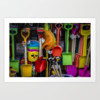 The Colour of Childhood Art Print