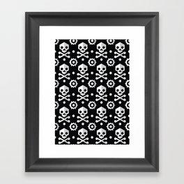 Jolly Roger Framed Art Print