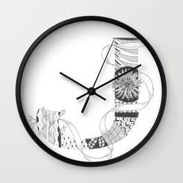 """Zenletter """"J"""" Wall Clock"""