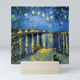 Vincent van Gogh Starry Night over the Rhone Mini Art Print