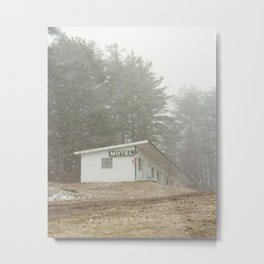 Motel Catskills Metal Print