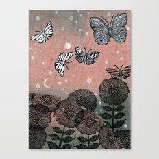 Night Garden (2) Canvas Print