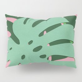 Monstera Deliciosa Pillow Sham