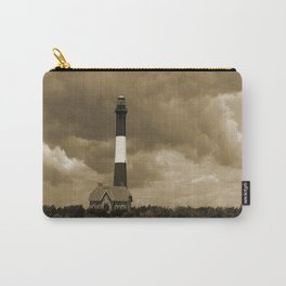 Fire Island Light In Sepia Carry-All Pouch