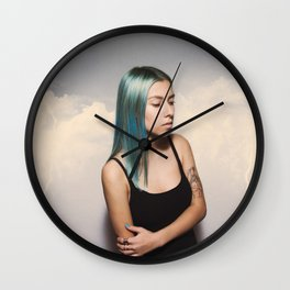 They Sicken of the Calm who Knew the Storm Wall Clock