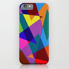 Abstract #342 Shapes & Colors iPhone 6s Slim Case