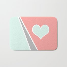 Love Pastel Bath Mat