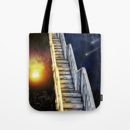 Stairway to.... u guess!  Tote Bag