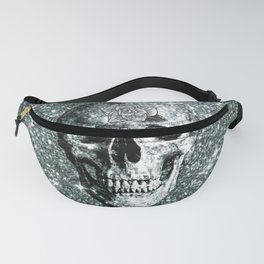 Modern sparkling Skull E Fanny Pack