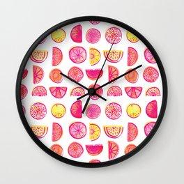 Fresh Citrus Wall Clock