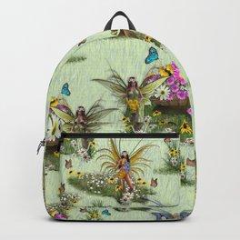 Spring Fairy Butterflies Backpack