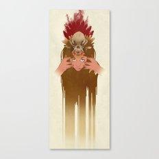 Wet Hot Indian Summer Canvas Print