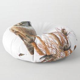 Finding the balance Floor Pillow