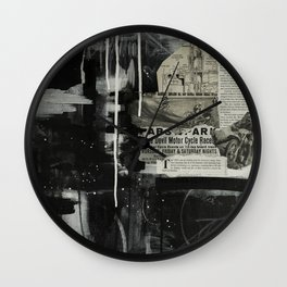 In Perpetual Motion Wall Clock