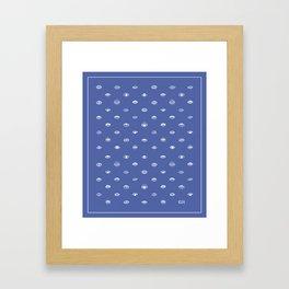 KUH - Eyes Framed Art Print