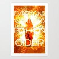 In Cider Art Print