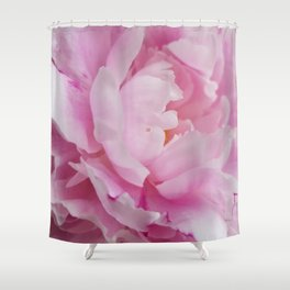 Floral Fun - Peony in pink 4 soft and billowy Shower Curtain